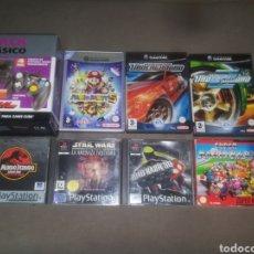 Videojuegos y Consolas: LOTE DE JUEGOS SUPER NINTENDO GAME CUBE PSX. Lote 125835474