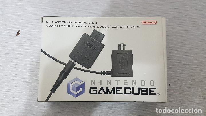 NINTENDO GAME CUBE RF RF SWITCH MODULATOR - NUEVO (Juguetes - Videojuegos y Consolas - Nintendo - Gamecube)