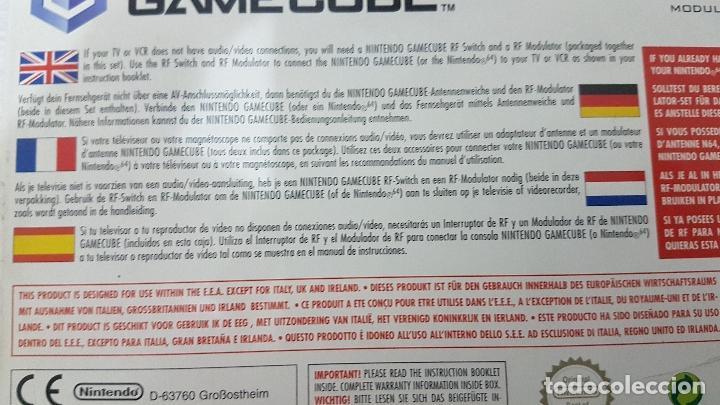 Videojuegos y Consolas: NINTENDO GAME CUBE RF RF SWITCH MODULATOR - NUEVO - Foto 4 - 126567719