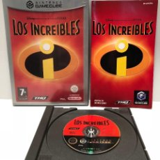 Videojuegos y Consolas: LOS INCREÍBLES NINTENDO GAMECUBE. Lote 127522379