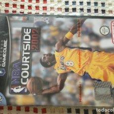 Videojuegos y Consolas: NBA COURTSIDE 2002 COURT SIDE SEALED PRECINTADO NUEVO NINTENDO GAMECUBE GAME CUBE GC NGC KREATEN. Lote 128110095