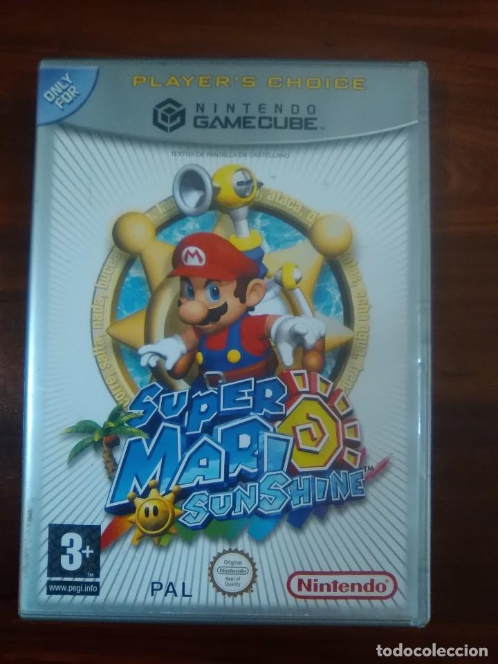 Super Mario Sunshine Nintendo Gamecube Pal Kaufen Videospiele