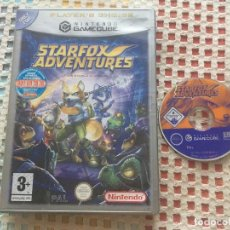 Videojuegos y Consolas: STARFOX ADVENTURES STAR FOX NGC GC NINTENDO GAME CUBE GAMECUBE KREATEN. Lote 133523049