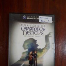 Videojuegos y Consolas: UNA SERIE DE CATASTROFICAS DESDICHAS - NINTENDO GAMECUBE - PAL - COMPLETO - BUEN ESTADO. Lote 41950017