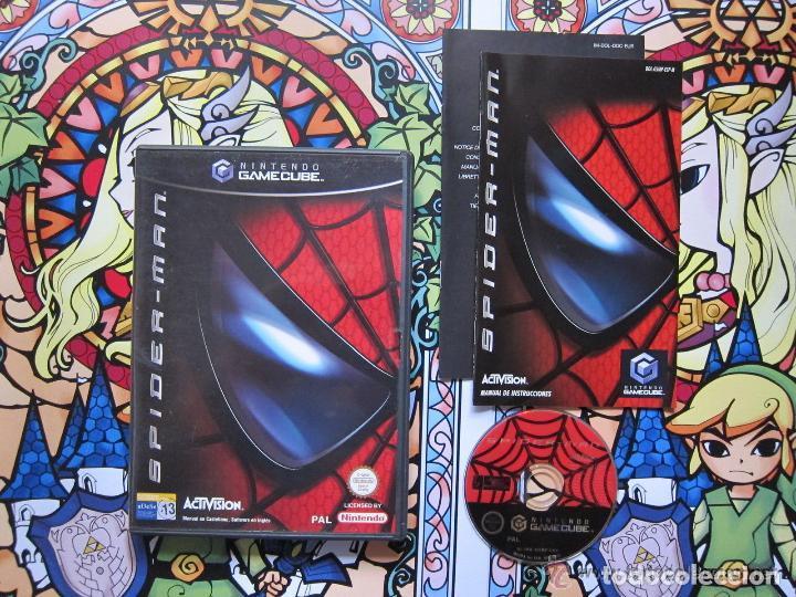 JUEGO NINTENDO GAMECUBE SPIDER-MAN (Juguetes - Videojuegos y Consolas - Nintendo - Gamecube)