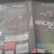 Videojuegos y Consolas: TOM CLANCYS SPLINTER CELL GAMECUBE PAL. Lote 135572690