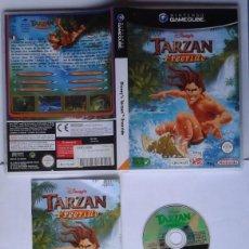 Videojogos e Consolas: JUEGO NINTENDO GAMECUBE & WII DISNEY TARZAN FREERIDE PAL EN CASTELLANO LEER R8145. Lote 136008962