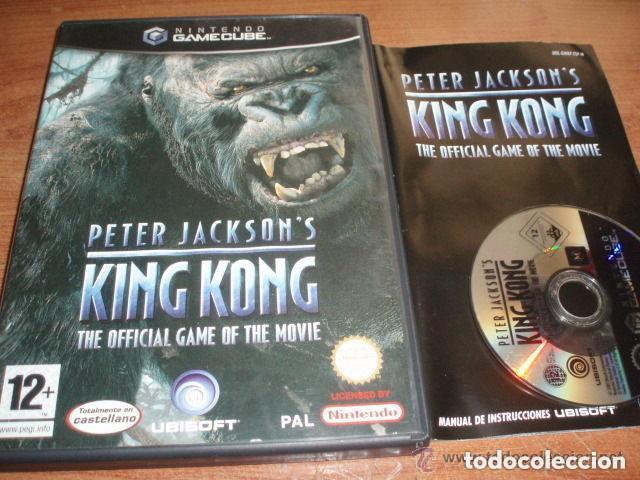 JUEGO NINTENDO GAMECUBE KING KONG (Juguetes - Videojuegos y Consolas - Nintendo - Gamecube)
