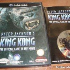 Videojuegos y Consolas: JUEGO NINTENDO GAMECUBE KING KONG. Lote 138114238