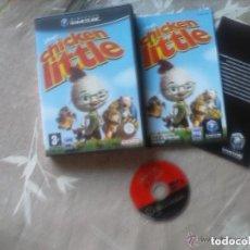 Videojuegos y Consolas: JUEGO NINTENDO GAMECUBE CHICKEN LITTLE. Lote 138114514