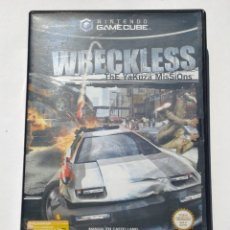 Videojuegos y Consolas: VIDEOJUEGO NINTENDO GC GAMECUBE GAME CUBE - WRECKLESS - THE YAKUZA MISSIONS - PAL. Lote 73635799