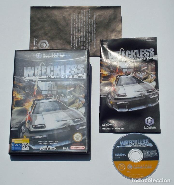 Videojuegos y Consolas: VIDEOJUEGO NINTENDO GC GAMECUBE GAME CUBE - WRECKLESS - THE YAKUZA MISSIONS - PAL - Foto 2 - 73635799
