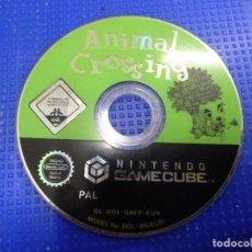 Videojuegos y Consolas: JUEGO NINTENDO GAMECUBE ANIMAL CROSSING. Lote 139053222