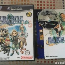 Videojuegos y Consolas: FINAL FANTASY CRYSTAL CHRONICLES FF NINTENDO GAMECUBE GAME CUBE NGC GC KREATEN . Lote 139994294