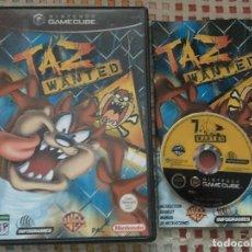 Videojuegos y Consolas: TAZ WANTED WARNER BROS NINTENDO GAMECUBE GAME CUBE NGC GC KREATEN . Lote 139994726
