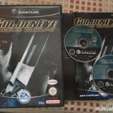 Videojuegos y Consolas: GOLDEN EYE AGENTE CORRUPTO NINTENDO GAMECUBE GAME CUBE NGC GC KREATEN . Lote 139995054