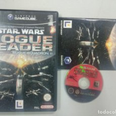Videojuegos y Consolas: STAR WARS ROGUE LEADER - NINTENDO GAMECUBE GAME CUBE GC WII PAL UK. Lote 140240914