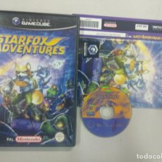 Videojuegos y Consolas: STARFOX ADVENTURES - NINTENDO GAMECUBE GAME CUBE GC WII PAL UK. Lote 140241118