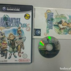 Videojuegos y Consolas: FINAL FANTASY CRYSTAL CHRONICLES - NINTENDO GAMECUBE GAME CUBE GC WII PAL UK. Lote 140241346