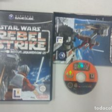 Videojuegos y Consolas: STAR WARS REBEL STRIKE - NINTENDO GAMECUBE GAME CUBE GC WII PAL UK. Lote 140241422