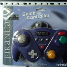 Videojuegos y Consolas: MANDO PARA CONSOLA. GAMECUBE. GAME CONTROLLER. COLOR AZUL. VER DATOS EN EL DORSO.. Lote 142100322