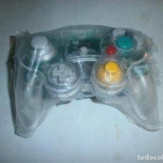 Videojuegos y Consolas: MANDO COMPATIBLE NINTENDO GAMECUBE TRANSPARENTE. Lote 141144474