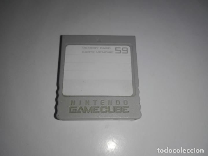 NINTENDO GAMECUBE TARJETA DE MEMORIA ORIGINAL MEMORY CARD (Juguetes - Videojuegos y Consolas - Nintendo - Gamecube)