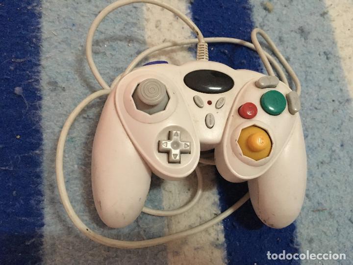MANDO BLANCO GAMECUBE GAME CUBE NINTENDO COMPATIBLE PRIMEROS MODELO WII (Juguetes - Videojuegos y Consolas - Nintendo - Gamecube)