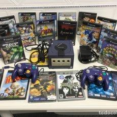 Videojuegos y Consolas: LOTE GAMECUBE + ACCESORIOS+23 JUEGOS. Lote 143323858