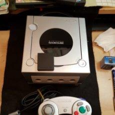 Videojuegos y Consolas: NINTENDO GAMECUBE CONSOLA COMPLETA. Lote 143329126