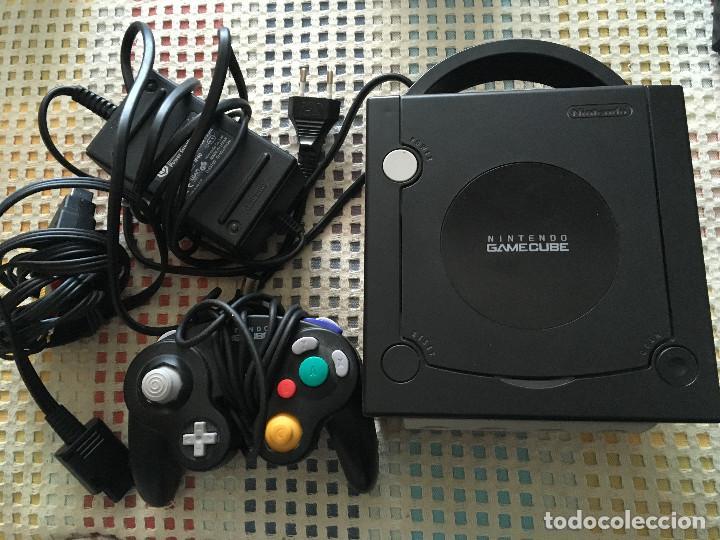 CONSOLA NEGRA NINTENDO GAMECUBE GAME CUBE NGC GC KREATEN (Juguetes - Videojuegos y Consolas - Nintendo - Gamecube)