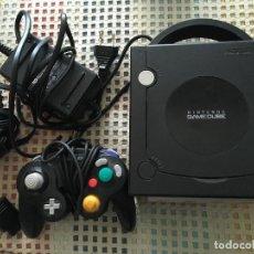 Videojuegos y Consolas: CONSOLA NEGRA NINTENDO GAMECUBE GAME CUBE NGC GC KREATEN. Lote 144136078