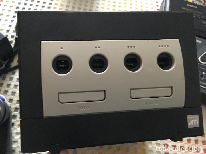 Videojuegos y Consolas: CONSOLA NEGRA NINTENDO GAMECUBE GAME CUBE NGC GC KREATEN - Foto 2 - 144136078