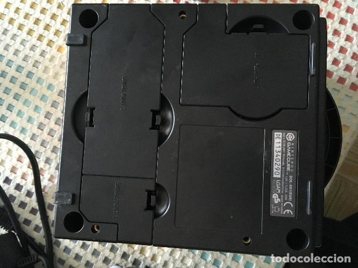 Videojuegos y Consolas: CONSOLA NEGRA NINTENDO GAMECUBE GAME CUBE NGC GC KREATEN - Foto 6 - 144136078