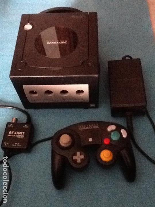 CONSOLA NEGRA NINTENDO GAMECUBE GAME CUBE (Juguetes - Videojuegos y Consolas - Nintendo - Gamecube)