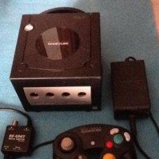 Videojuegos y Consolas: CONSOLA NEGRA NINTENDO GAMECUBE GAME CUBE. Lote 144474014