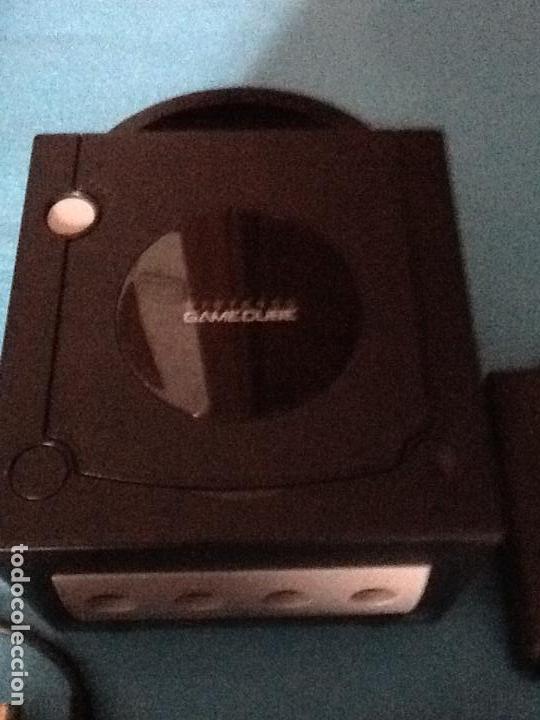 Videojuegos y Consolas: CONSOLA NEGRA NINTENDO GAMECUBE GAME CUBE - Foto 2 - 144474014
