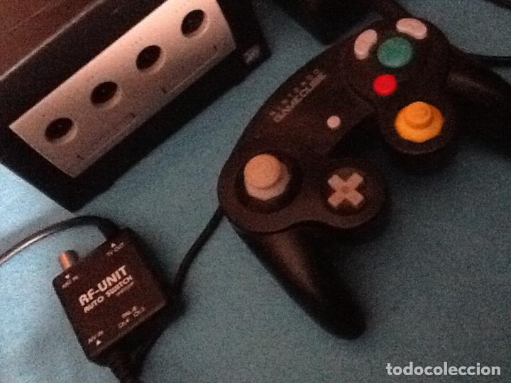 Videojuegos y Consolas: CONSOLA NEGRA NINTENDO GAMECUBE GAME CUBE - Foto 3 - 144474014