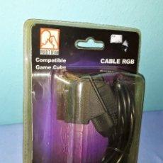 Videojuegos y Consolas: CABLE RGB COMPATIBLE CONSOLA GAMECUBE GAME CUBE ORIGINAL A ESTRENAR VER FOTOS Y DESCRIPCION. Lote 145747594