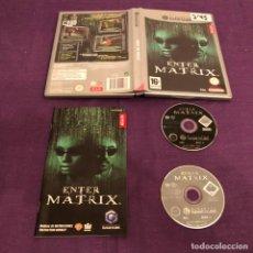 Videojuegos y Consolas: ENTER THE MATRIX NINTENDO GAME CUBE. Lote 146909042