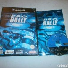 Videojuegos y Consolas: PRO RALLY NINTENDO GAMECUBE PAL ESPAÑA . Lote 147520502