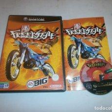 Videojogos e Consolas: FREEKSTYLE NINTENDO GAMECUBE PAL ESPAÑA COMPLETO. Lote 158906708