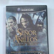 Videojuegos y Consolas: EL SEÑOR DE LOS ANILLOS: LAS DOS TORRES - NINTENDO GAMECUBE. Lote 148657666