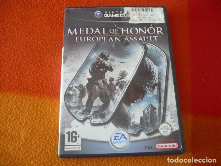 MEDAL OF HONOR EUROPEAN ASSAULT GAMECUBE NINTENDO PAL UK (Juguetes - Videojuegos y Consolas - Nintendo - Gamecube)