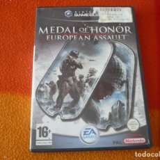 Videojuegos y Consolas: MEDAL OF HONOR EUROPEAN ASSAULT GAMECUBE NINTENDO PAL UK . Lote 150114014