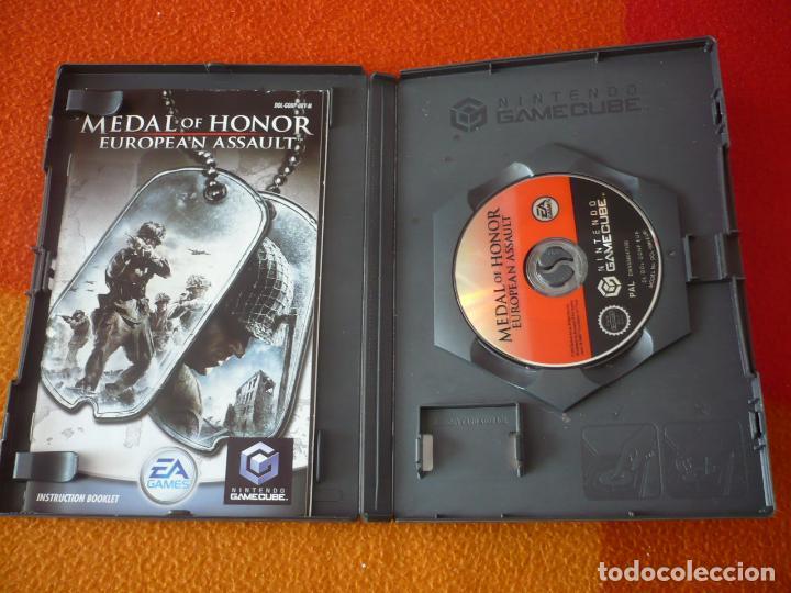 Videojuegos y Consolas: MEDAL OF HONOR EUROPEAN ASSAULT GAMECUBE NINTENDO PAL UK - Foto 2 - 150114014
