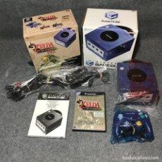 Videojuegos y Consolas: CONSOLA NINTENDO GAME CUBE THE LEGEND OF ZELDA THE WIND WAKER PAK. Lote 151685928