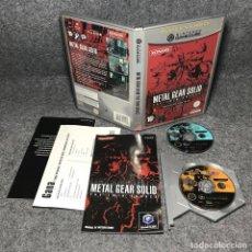 Videojuegos y Consolas: METAL GEAR SOLID THE TWIN SNAKES NINTENDO GAME CUBE. Lote 151685936