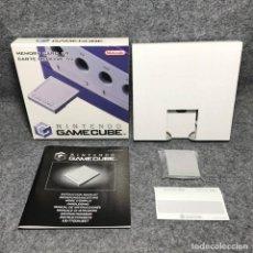 Videojuegos y Consolas: MEMORY CARD 59 BLOQUES CON CAJA E INSTRUCCIONES NINTENDO GAME CUBE. Lote 151685956