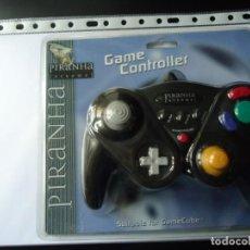 Videojuegos y Consolas: MANDO PARA CONSOLA GAME CUBE. GAME CONTROLLER,COLOR AZUL Y NEGRO.VER FOTO DEL DORSO.. Lote 151996170